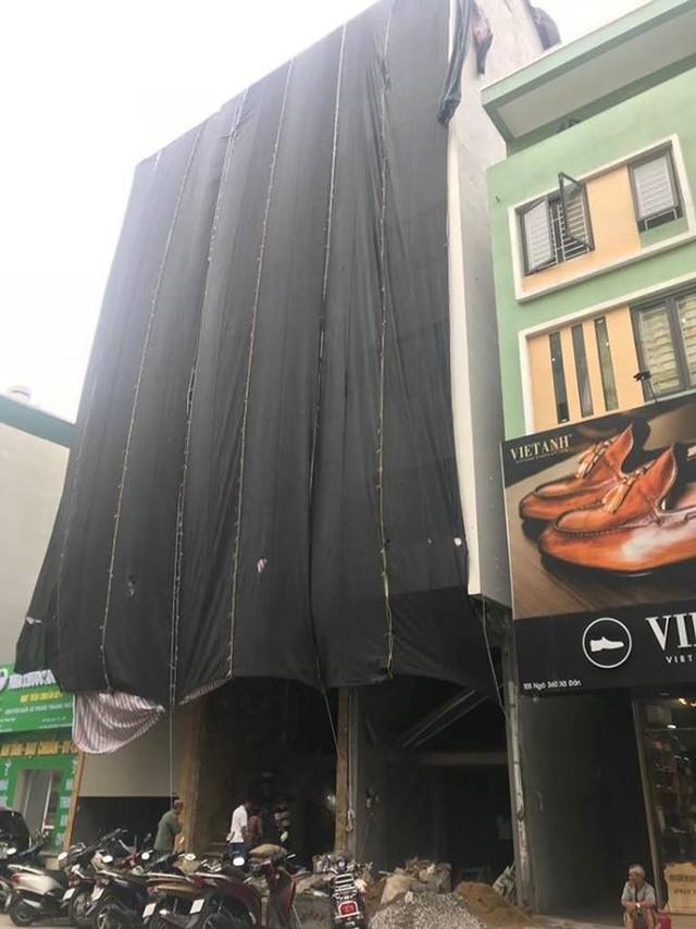 Quận trọng điểm Hà Nội bùng phát nhà sai phép kiểu mới - Ảnh 1.