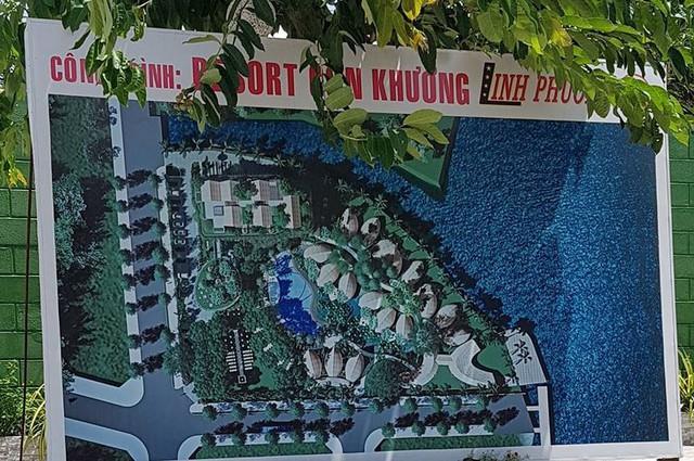Cận cảnh đại công trình Resort lấn chiếm sông Hậu - Ảnh 1.