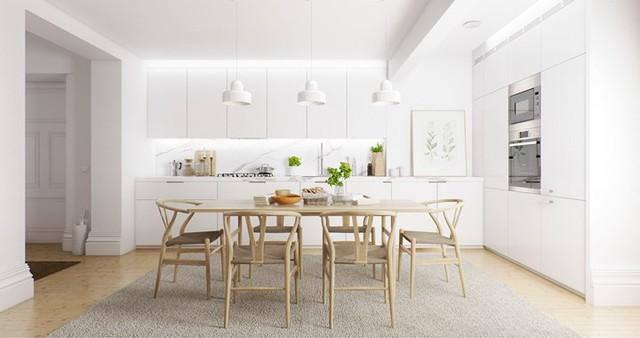 Cách sắp xếp phòng ăn dễ làm mà ai cũng có thể thực hiện - Ảnh 4.
