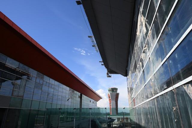 Toàn cảnh cảng hàng không quốc tế Vân Đồn trong ngày đâyn chuyến bay hiệu chuẩn Thứ nhất - Ảnh 7.