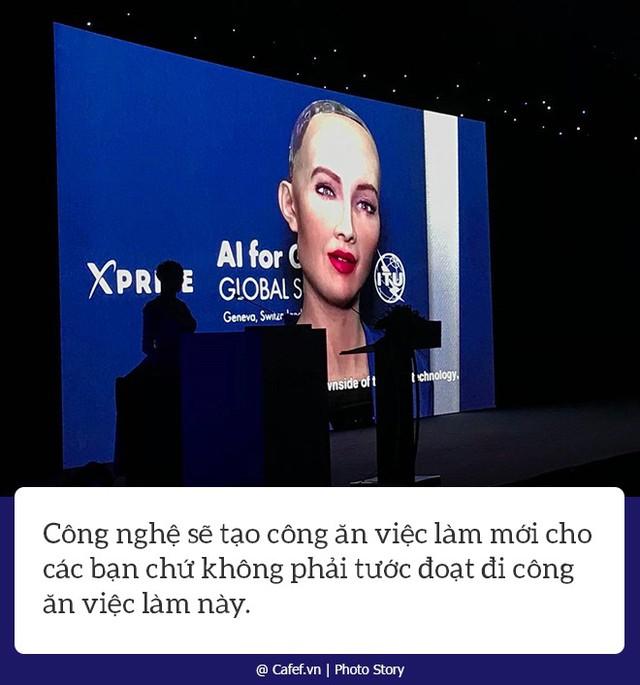 Robot Sophia nói gì về nhữngh mạng công nghiệp 4.0 ở Việt Nam? - Ảnh 3.