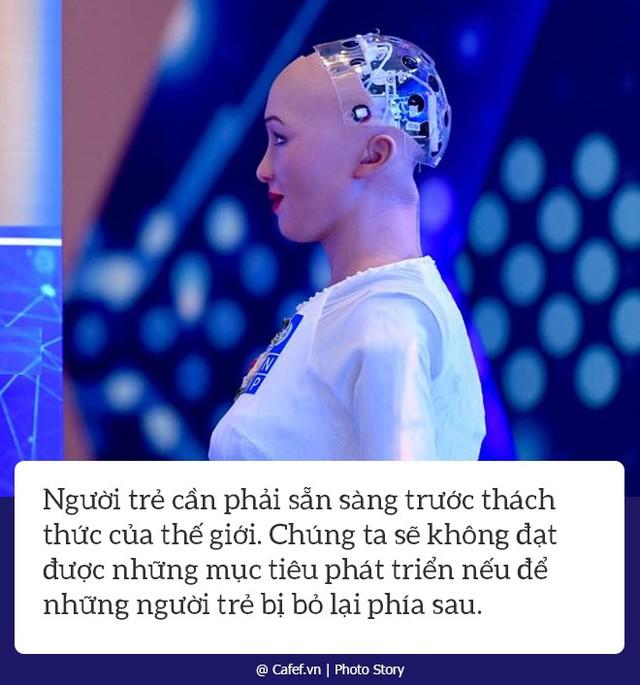 Robot Sophia nói gì về nhữngh mạng công nghiệp 4.0 ở Việt Nam? - Ảnh 4.