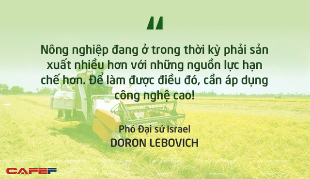 Phó Đại sứ Israel: Việt Nam có khả năng cao trở thành vựa lương thực của thế giới! - Ảnh 1.