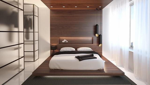 Phòng ngủ trang trí tối giản mà vẫn đẹp tân tiến - Ảnh 7.
