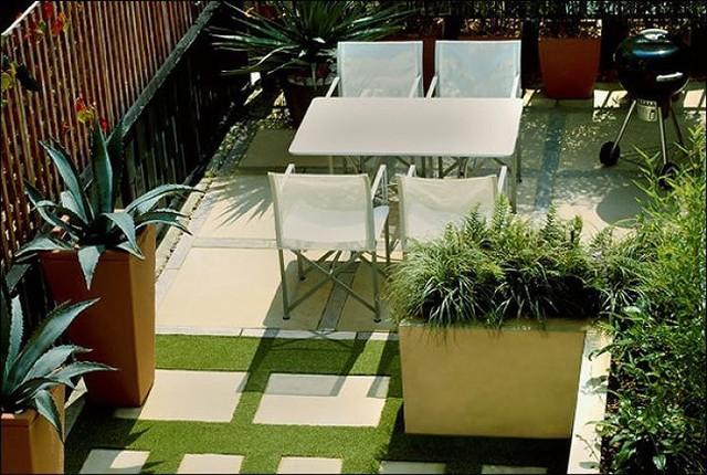 Ý tưởng thiết kế vườn trên sân thượng tuyệt đẹp - Ảnh 4.