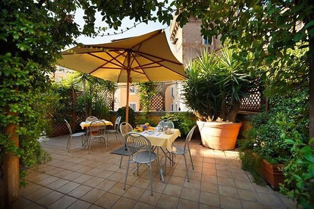 Ý tưởng thiết kế vườn trên sân thượng tuyệt đẹp - Ảnh 6.