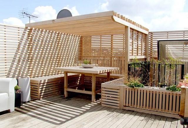 Ý tưởng thiết kế vườn trên sân thượng tuyệt đẹp - Ảnh 10.