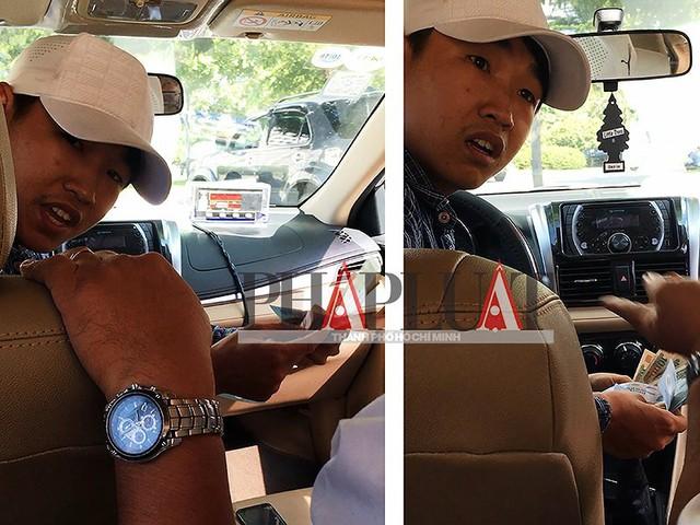 Nơi giấu tiền khó ngờ của tài xế taxi dỏm - Ảnh 3.