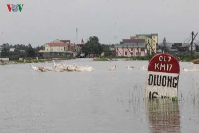 Ảnh: Bão số 3 gây mưa to, lũ lớn khiến bản làng tan hoang - Ảnh 3.