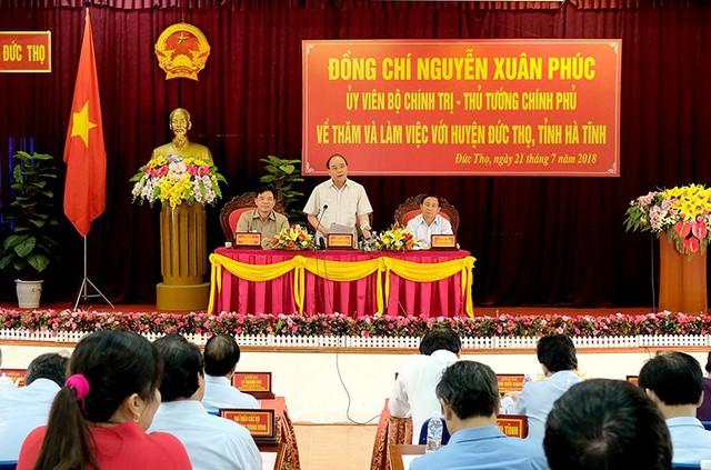 Thủ tướng thị sát 'thương hiệu' riêng của Hà Tĩnh - Ảnh 2.