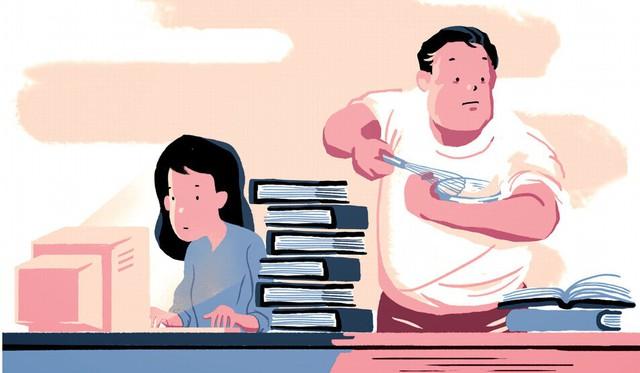 Xu hướng chồng ở nhà nội trợ, vợ đi làm kiếm tiền đang tăng mạnh ở Nhật Bản - Ảnh 2.