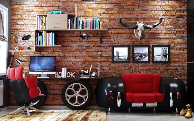 Ý tưởng trang trí phòng làm việc ở nhà hiện đại, phong cách - Ảnh 7.