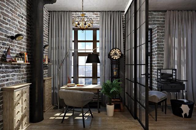 Ý tưởng trang trí phòng làm việc ở nhà hiện đại, phong cách - Ảnh 9.