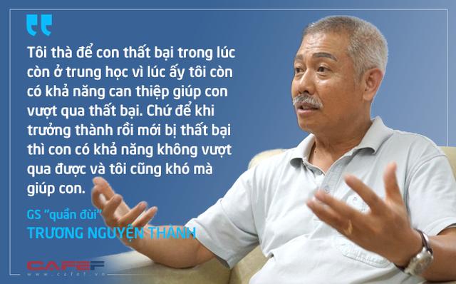 Giáo sư quần đùi Trương Nguyện Thành: Tạo điều kiện cho con thất bại để dạy con kháng bại - Ảnh 1.