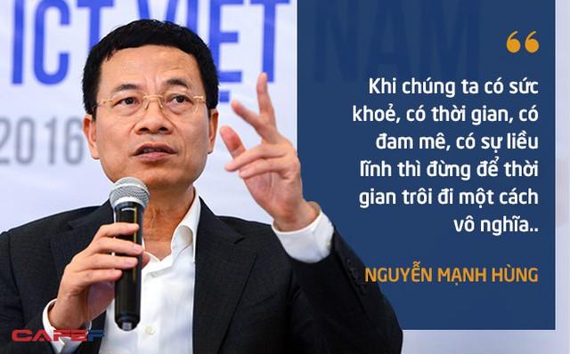 10 phát ngôn truyền cảm hứng của ông Nguyễn Mạnh Hùng dành cho giới trẻ - Ảnh 2.