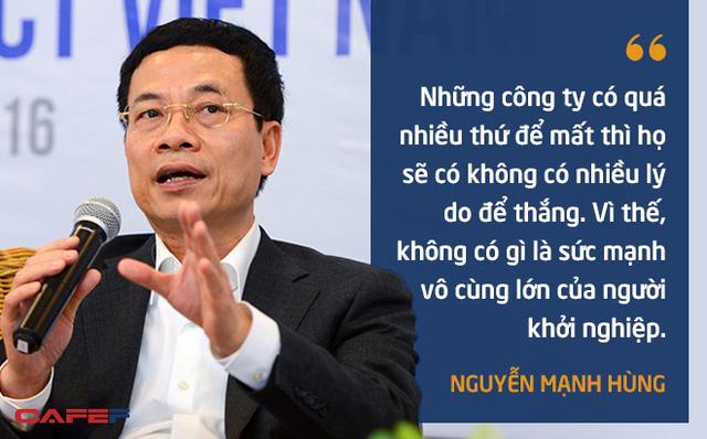 10 phát ngôn truyền cảm hứng của ông Nguyễn Mạnh Hùng dành cho giới trẻ - Ảnh 8.