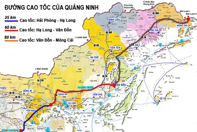 Quảng Ninh: Đã lựa chọn được nhà đầu tư dự án cao tốc Vân Đồn - Móng Cái hơn 11 nghìn tỷ đồng - Ảnh 1.