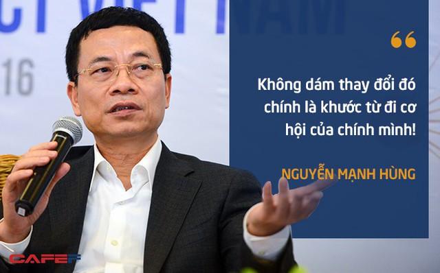 Những chuyện ít biết về ông Nguyễn Mạnh Hùng ở Viettel - Ảnh 1.