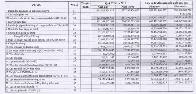 SOTRANS (STG): Quý 2 lãi 24 tỷ đồng cao gấp 2 lần cùng kỳ - Ảnh 1.