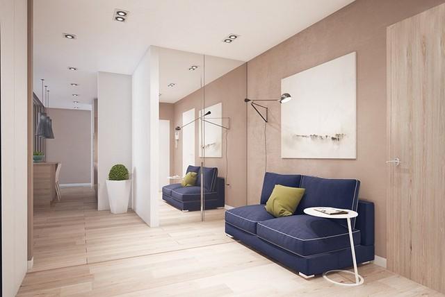 Nội thất nhà có màu sắc sống động tạo ấn tượng đẹp mắt - Ảnh 4.