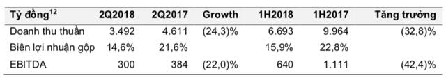 Lợi nhuận của Masan Nutri-Science vẫn giảm sâu so với cùng kỳ 2017 dù giá heo đã phục hồi đáng kể - Ảnh 1.