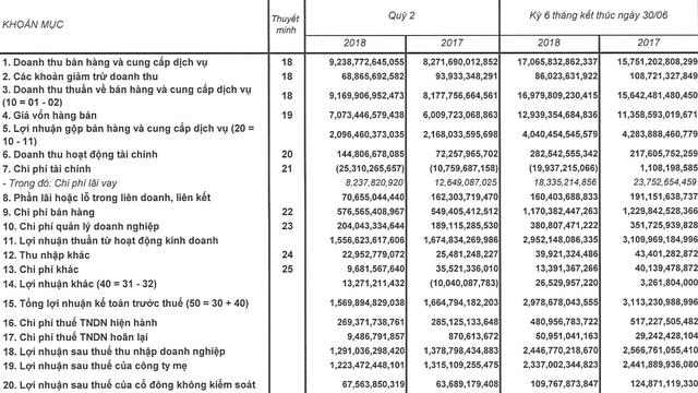 Bất chấp mùa Worldcup, lợi nhuận quý 2 của Sabeco vẫn sụt giảm 7% so với cùng kỳ năm trước - Ảnh 1.