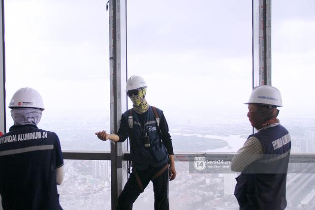 Chùm ảnh: Đứng ở tầng cao nhất Landmark 81, nhìn toàn cảnh Sài Gòn đẹp và bình yên đến thế! - Ảnh 4.
