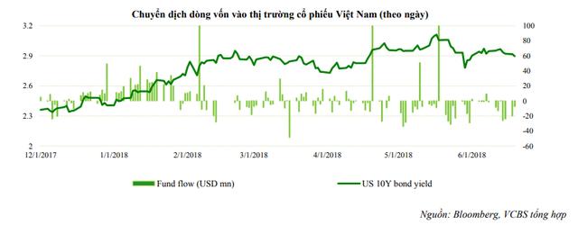 VCBS: Khối ngoại sẽ mất 3-6 tháng cơ cấu danh mục trước khi giải ngân trở lại - Ảnh 1.