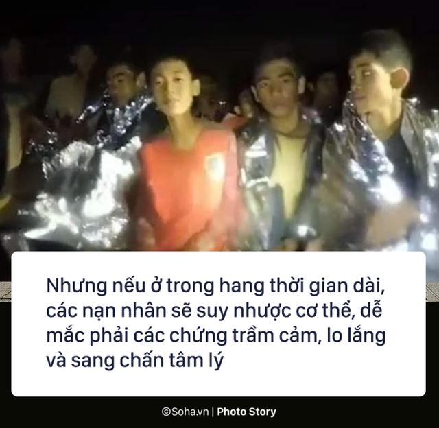 Những hiểm họa đáng sợ nào rình rập đội bóng Thái Lan bên ngoài cửa hang? - Ảnh 3.
