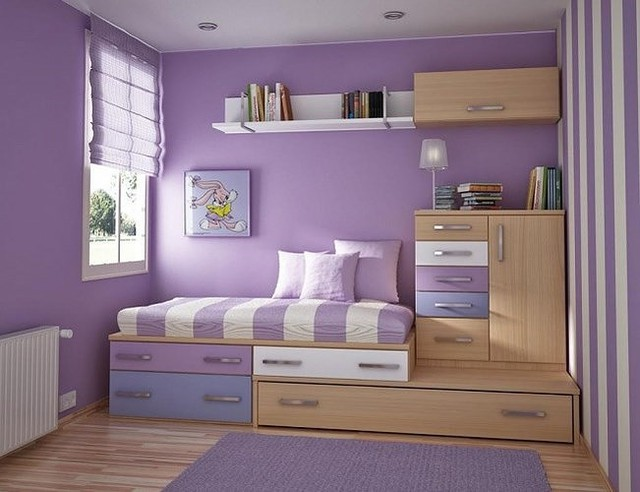 Ý tưởng kiến trúc hoàn hảo cho phòng ngủ nhỏ hẹp - Ảnh 3.