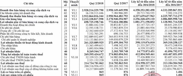 Chi đậm cho quảng cáo, doanh thu Bia Hà Nội vẫn giảm trong quý 2 bất chấp sự kiện Worldcup - Ảnh 1.
