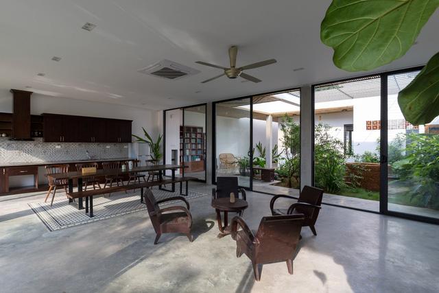"""Cận cảnh căn nhà cấp 4 """"đẹp hơn biệt thự"""" ở ngoại thành Hà Nội được báo Tây khen ngợi - Ảnh 9."""