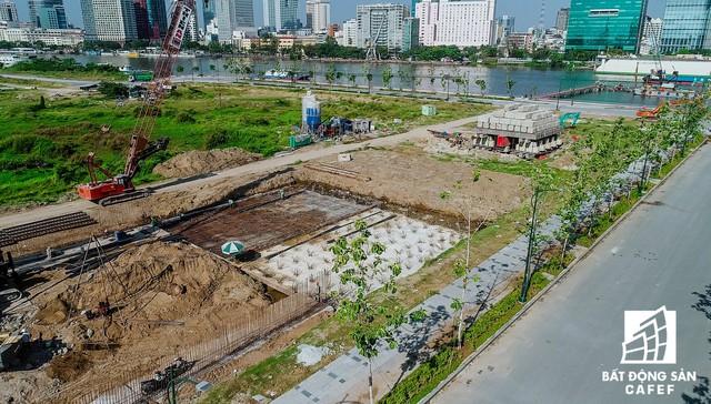 Toàn cảnh dự án cầu Thủ Thiêm 2 đang xây dựng nối khu trung tâm Quận 1 với KĐT Thủ Thiêm - Ảnh 10.