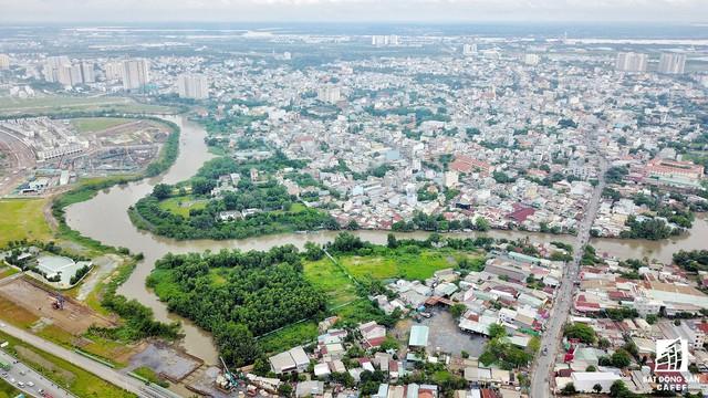 Cận cảnh dự án tuyến 1 vài con phố huyết mạch khu Đông Sài Gòn được mở rộng từ 7m lên 30m - Ảnh 3.