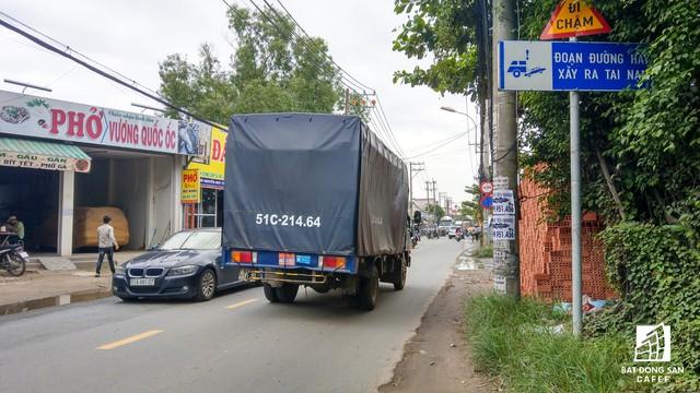 Cận cảnh dự án tuyến 1 vài con phố huyết mạch khu Đông Sài Gòn được mở rộng từ 7m lên 30m - Ảnh 6.