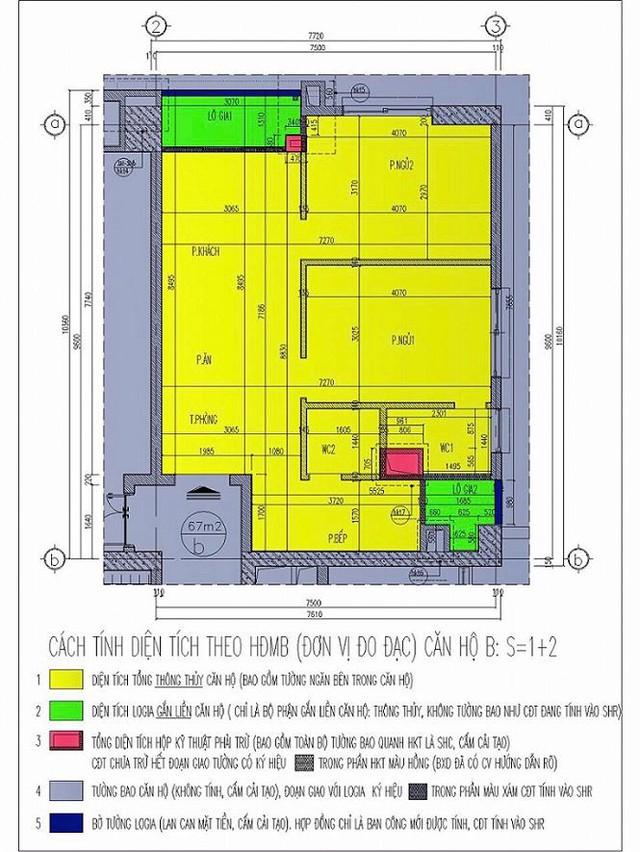 Vụ hàng trăm căn hộ chung cư hụt tổng diện tích: Chủ đầu tư sẽ đo lại tất cả căn hộ chung cư - Ảnh 3.