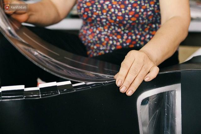 Làng vàng mã sản xuất xe hơi, túi hiệu cho người cõi âm tất bật trong tháng cô hồn: Xe mui trần đắt nhất 2 triệu đồng - Ảnh 19.
