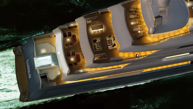 Khám phá siêu du thuyền lớn nhất châu Á, có cả sân riêng cho máy bay trực thăng - Ảnh 3.