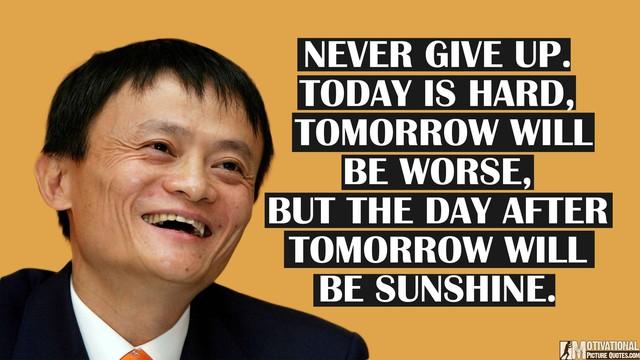 9 lời khuyên chí lý, càng ngẫm càng hay của Jack Ma gửi đến người trẻ tuổi: Đọc và suy nghĩ để định hướng bản thân trên con đường sự nghiệp lắm chông gai - Ảnh 2.