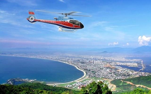 TP. HCM dùng trực thăng giám sát 18 công trình đang thi công - Ảnh 1.