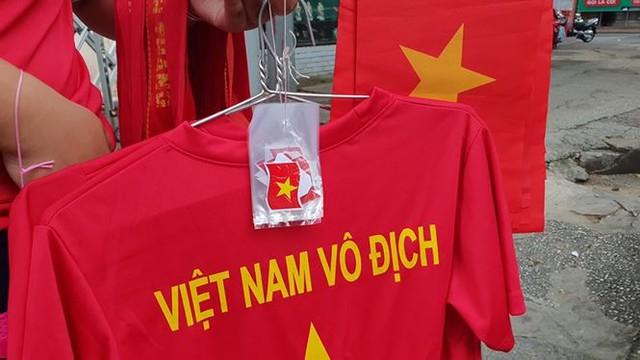 Đường phố Sài Gòn tràn ngập cờ hoa trước trận Việt Nam - Syria - Ảnh 8.