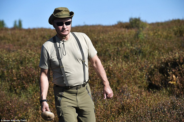 Tổng thống Putin lại gây sốt có chuyến nghỉ hè ở vùng hoang vu Siberia - Ảnh 1.