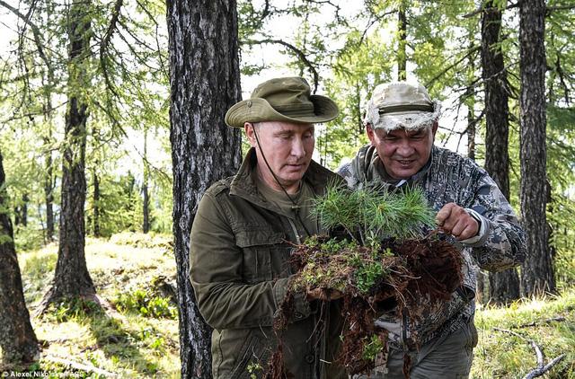 Tổng thống Putin lại gây sốt có chuyến nghỉ hè ở vùng hoang vu Siberia - Ảnh 2.