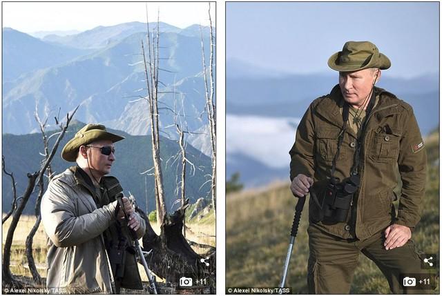 Tổng thống Putin lại gây sốt có chuyến nghỉ hè ở vùng hoang vu Siberia - Ảnh 6.