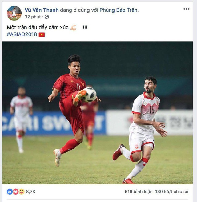 Văn Toàn, Công Phượng... mừng chiến thắng tưng bừng trên facebook - Ảnh 4.