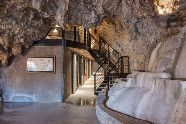 Hang động sang trọng nhất thế giới đang được rao bán với giá 58 tỷ đồng, bên ngoài hoang sơ bên trong mới thật sự bất ngờ - Ảnh 6.