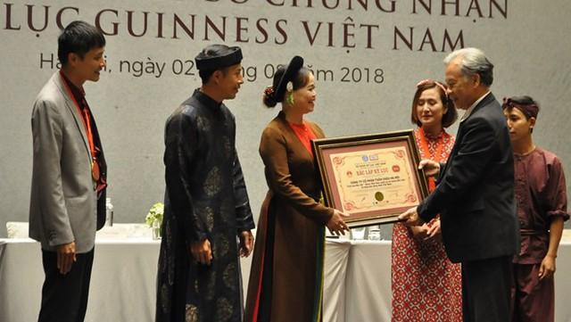 Tinh hoa Bắc bộ xác lập 2 kỷ lục Việt Nam - Ảnh 2.