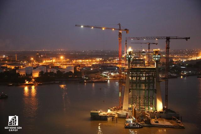 Một ngày trước khi thông xe, nhìn toàn cảnh xa lộ Hạ Long - Hải Phòng và cầu Bạch Đằng gần 15 nghìn tỷ từ trên cao - Ảnh 4.