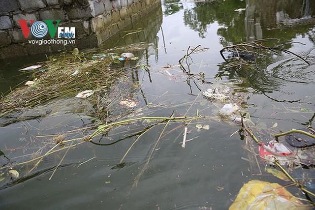 Ảnh: Sau ngập lụt dài ngày, dân Chương Mỹ đối mặt bệnh lở loét da - Ảnh 2.