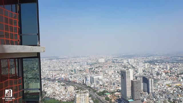 Toàn cảnh thành phố trọng điểm Sài Gòn nhìn từ đỉnh tòa nhà cao nhất Việt Nam - Ảnh 6.